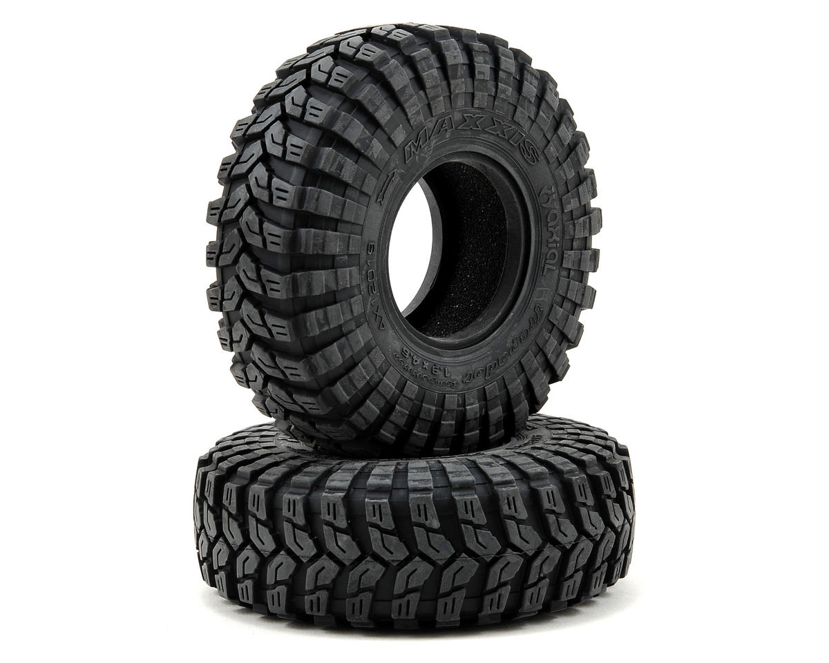 "Maxxis Trepador 1.9"" Rock Crawler Tires (2) (R35) by Axial Racing"