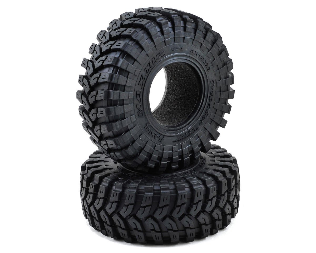 "Maxxis Trepador 2.2"" Rock Crawler Tires (2) (R35) by Axial"