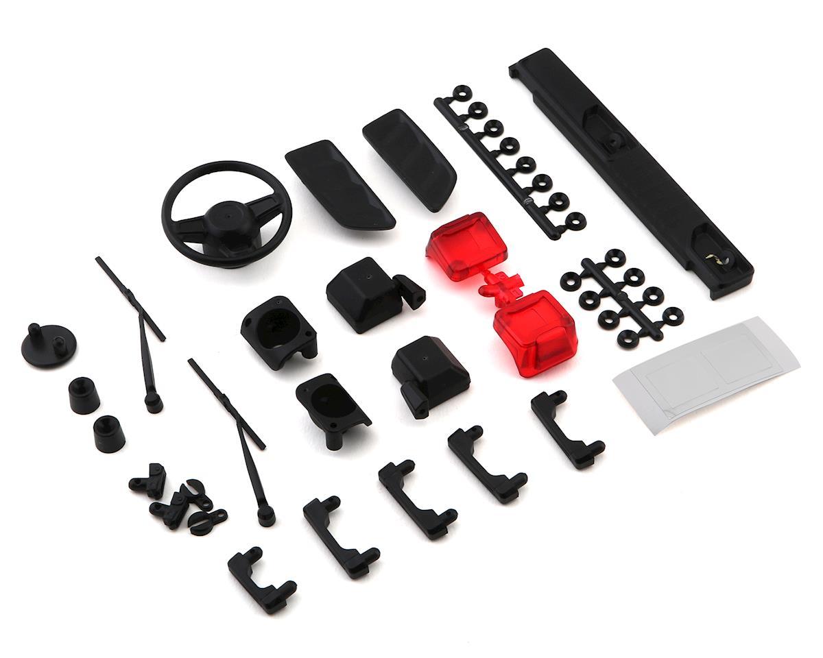 Axial SCX10 III Jeep JLU Exterior Body Detail Parts