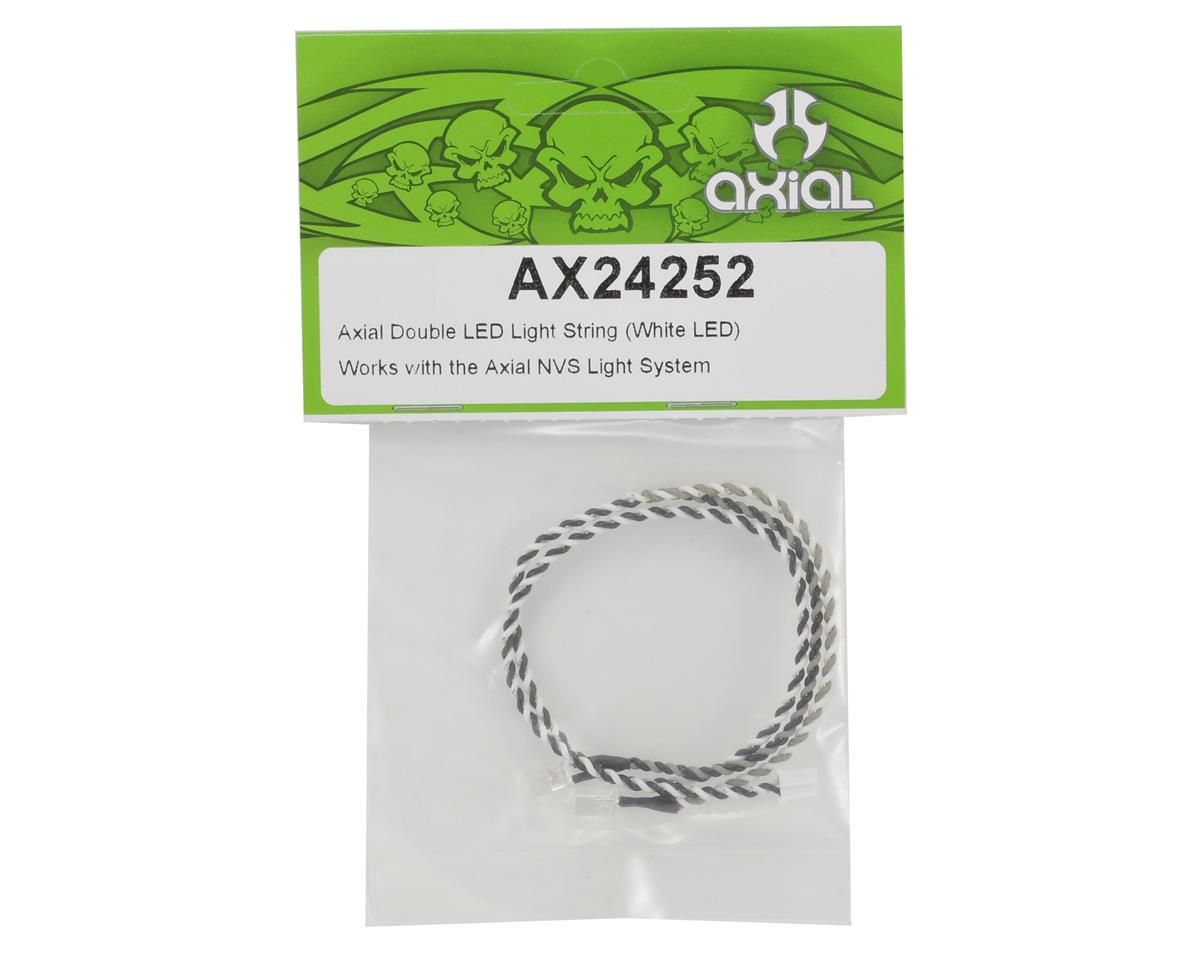 Axial Double LED Light String (White LED)