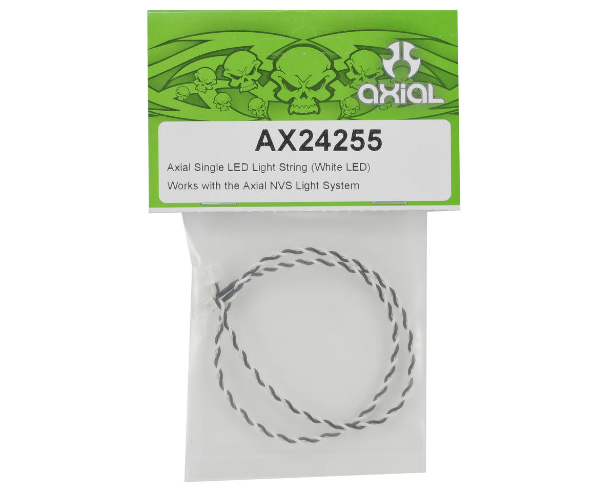 Axial Single LED Light String (White LED)