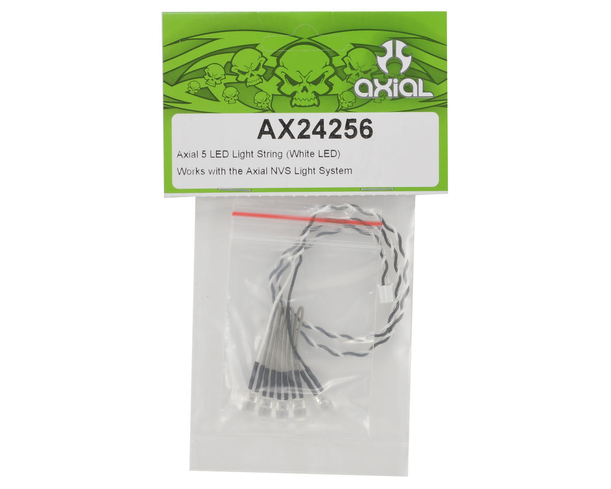 Axial 5 LED Light String (White LED)