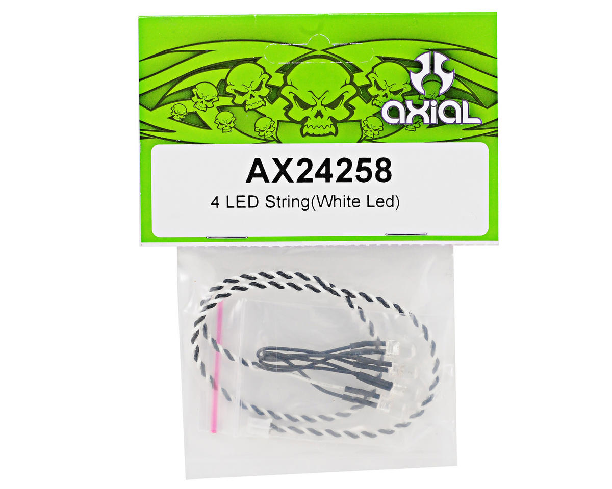 4 LED Light String (White LED) by Axial