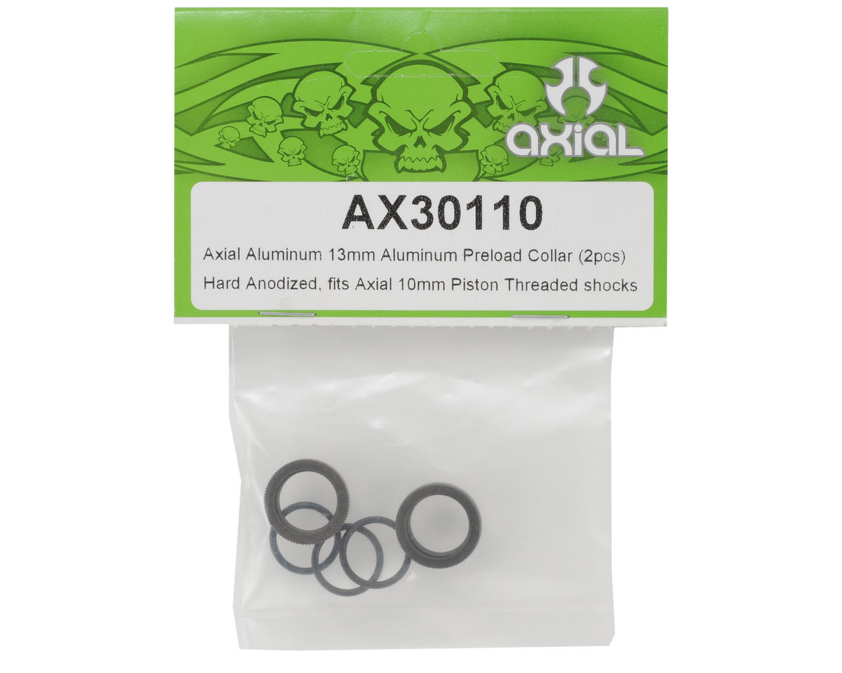 Axial Racing 13mm Aluminum Preload Collar (2)