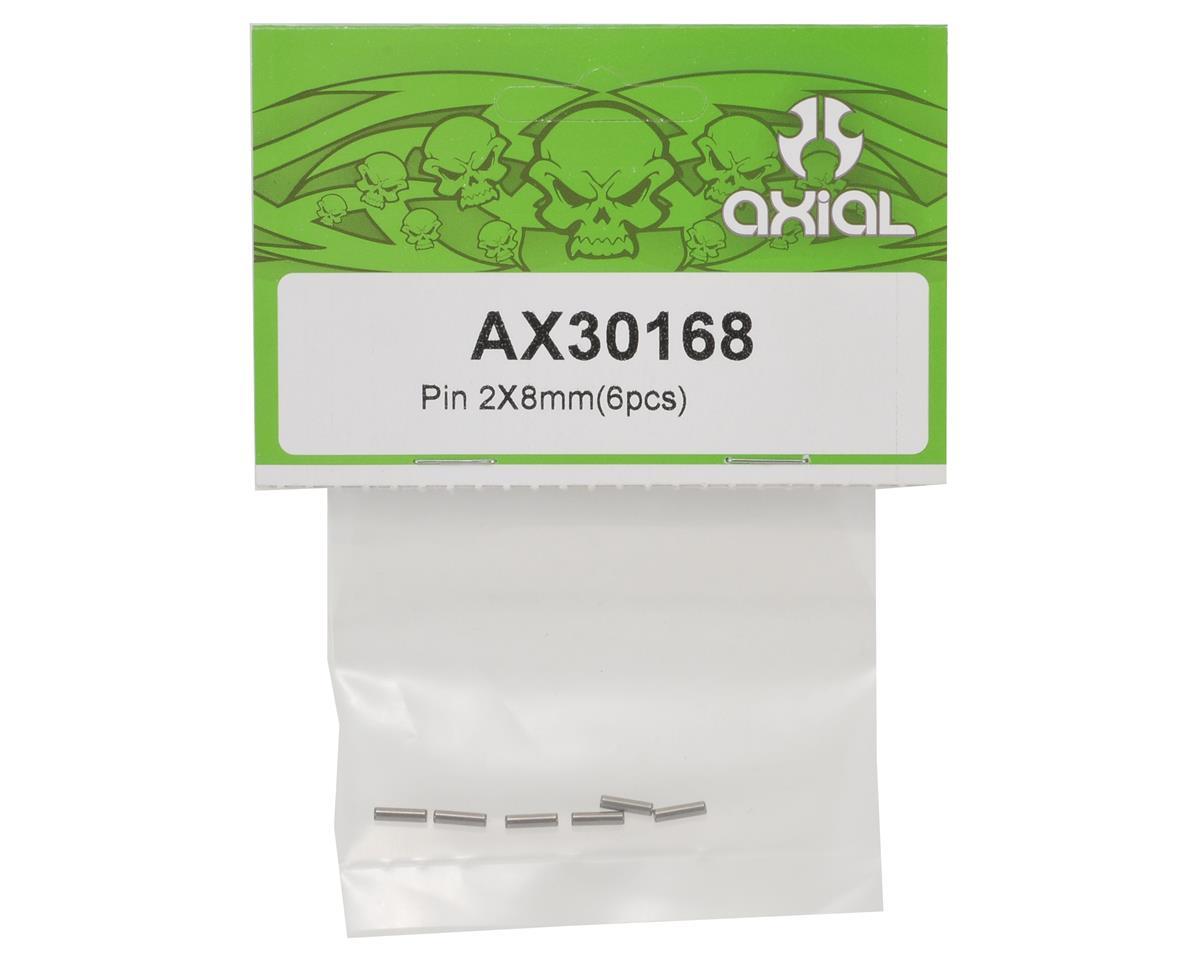 6 Axial AX30168 XR10 Score 2x8mm Pin Set