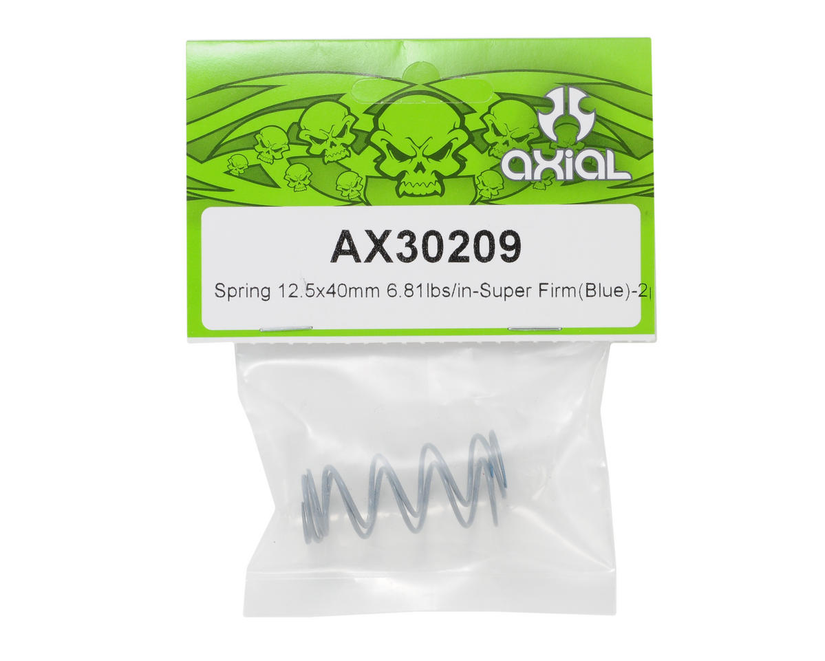 Axial Racing Shock Spring 12.5x40mm (Super Firm/Blue)