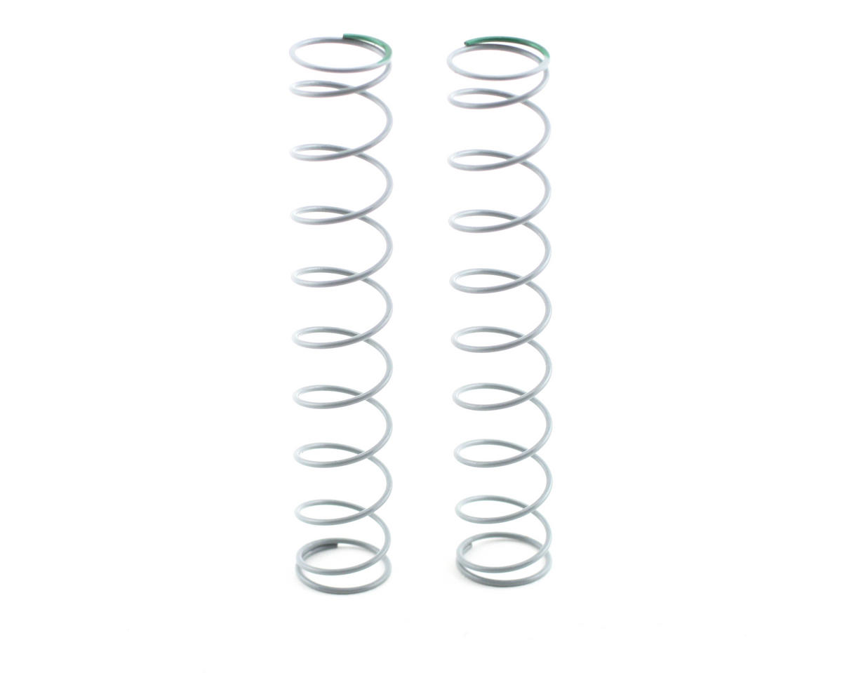 14x90mm Shock Spring (Medium - 2.25 lbs/in) (Green) by Axial Racing