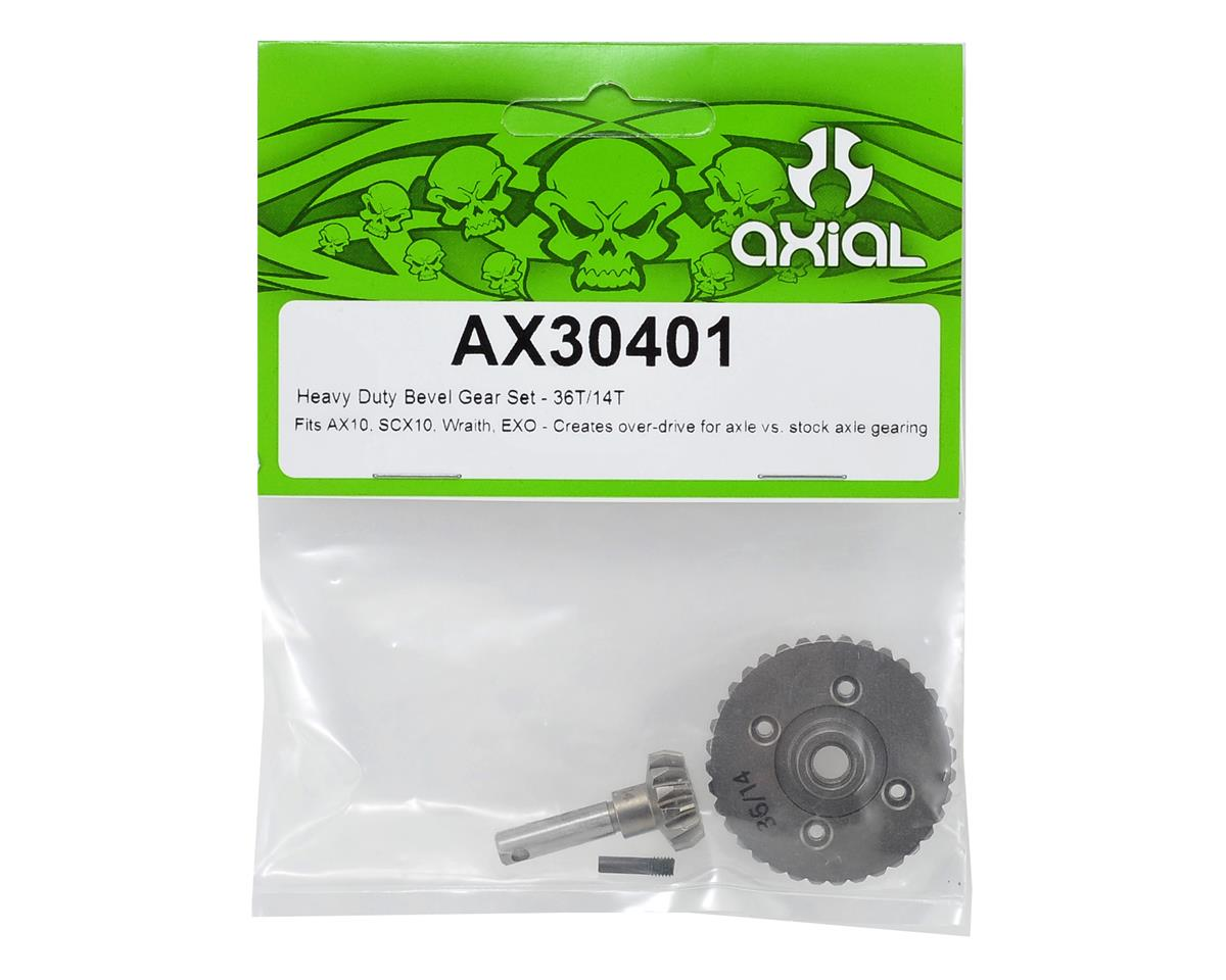 "Image 2 for Axial Heavy Duty ""Overdrive"" Bevel Gear Set (36/14)"