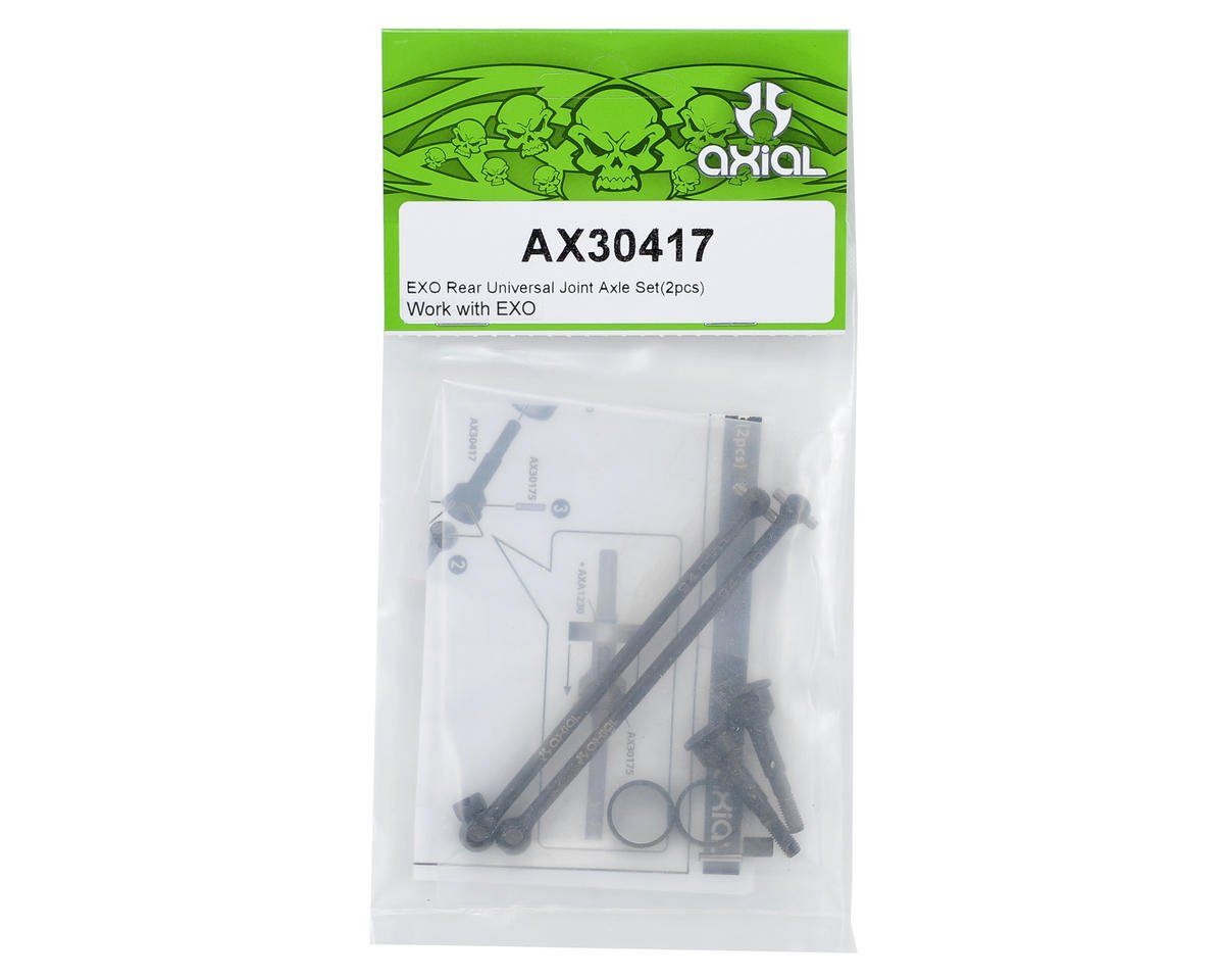 Axial Rear CV Driveshaft Set (2)