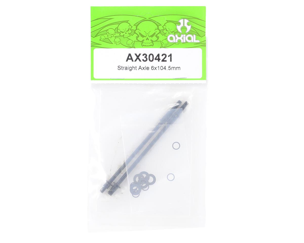 Axial Straight Locker Axle 6x104.5mm (2)