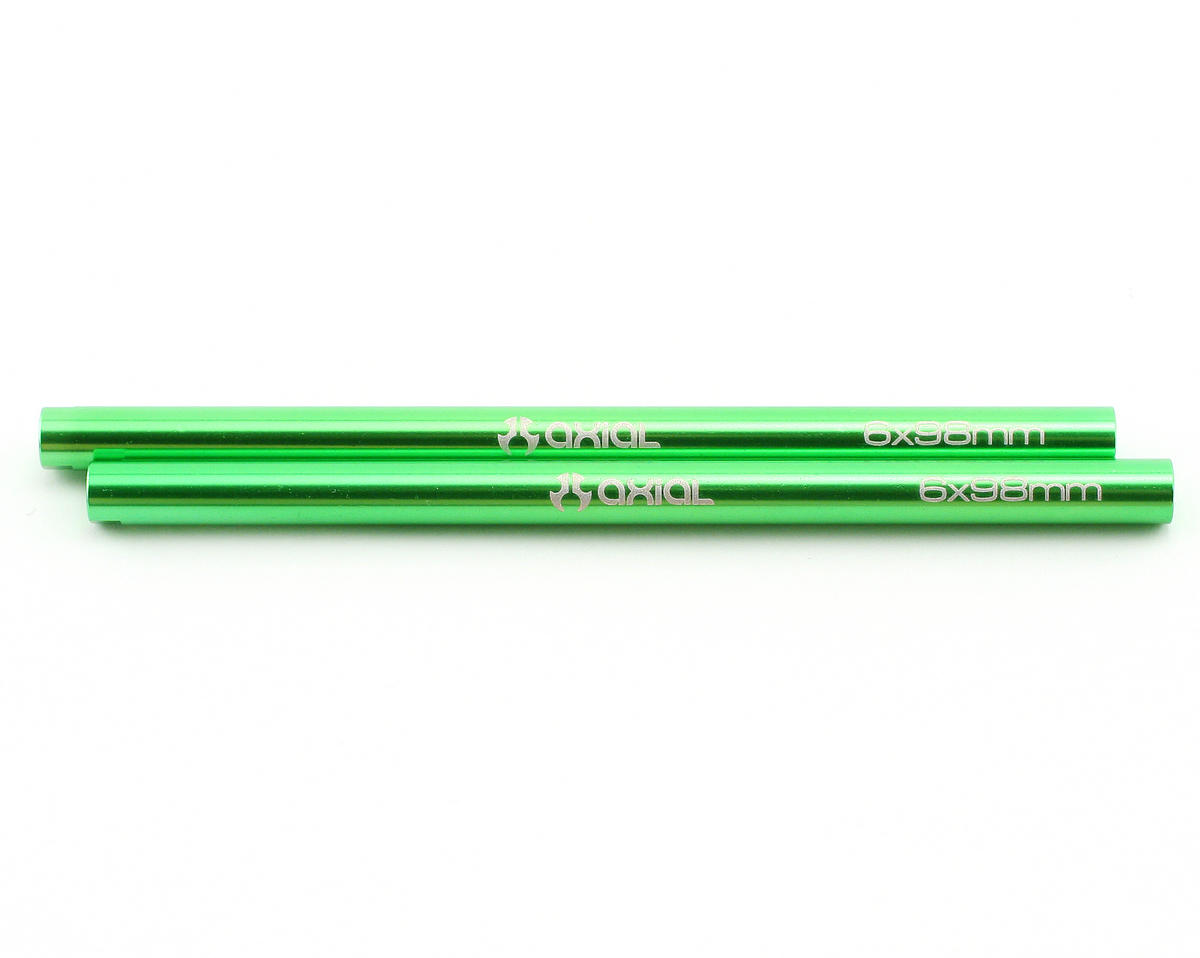 Axial Racing Threaded Aluminum Pipe 6x98mm (Green) (2)