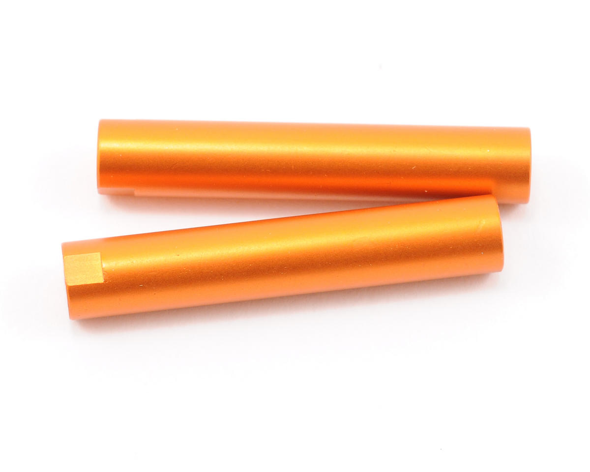 Axial Racing Threaded Aluminum Pipe 6x33mm (Orange) (2)
