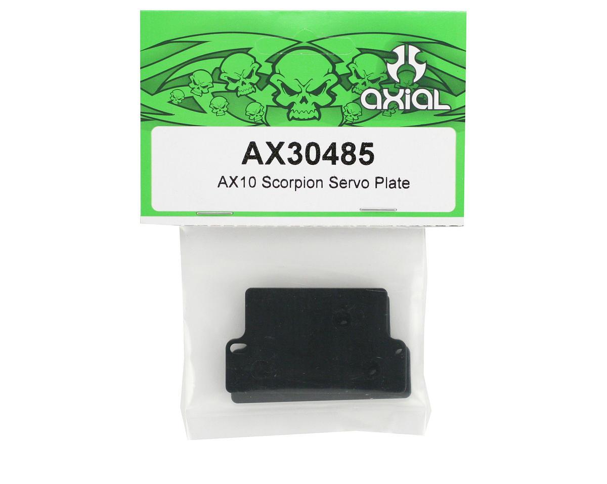 Axial Racing Servo Plate