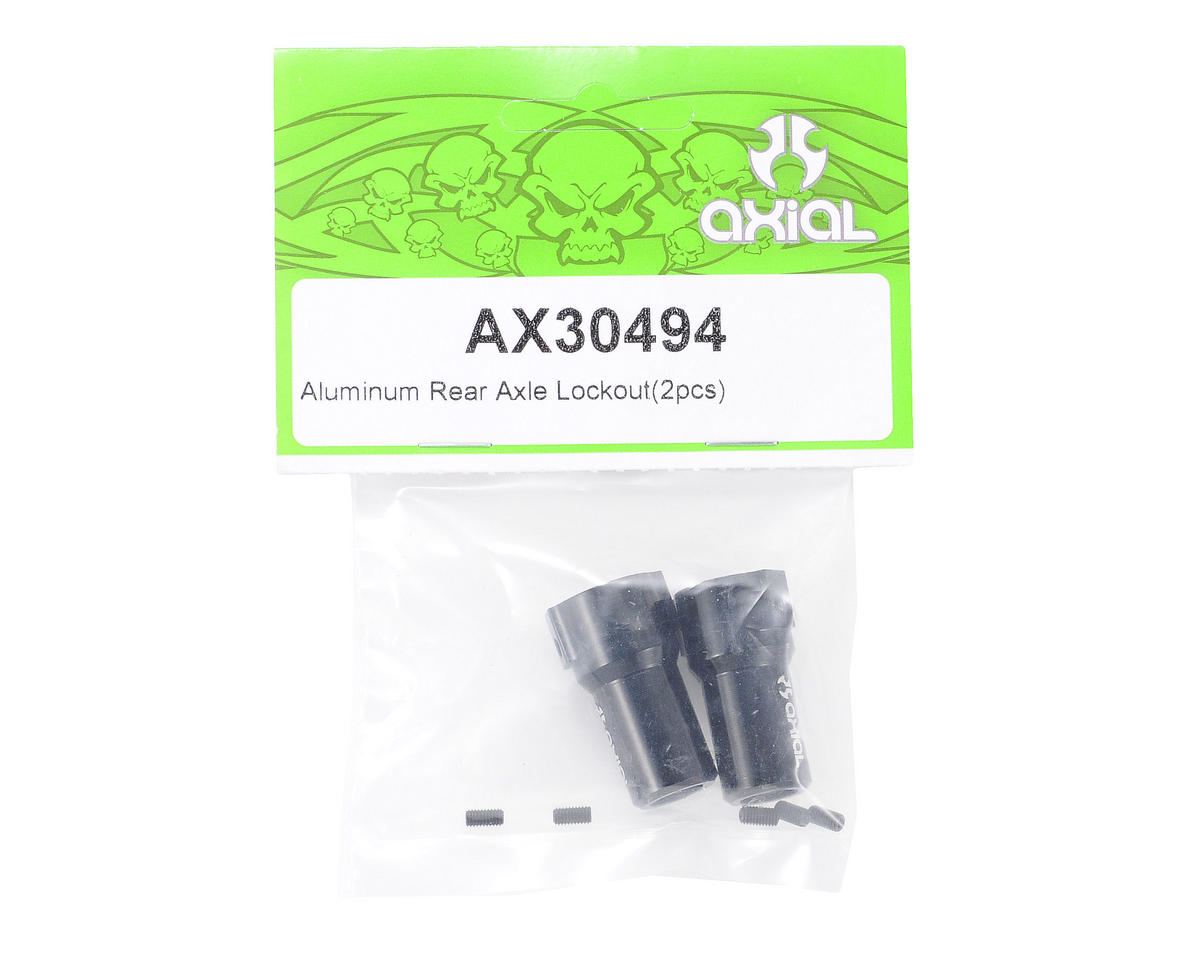 Axial Alumimum Rear Axle Lockout (2)