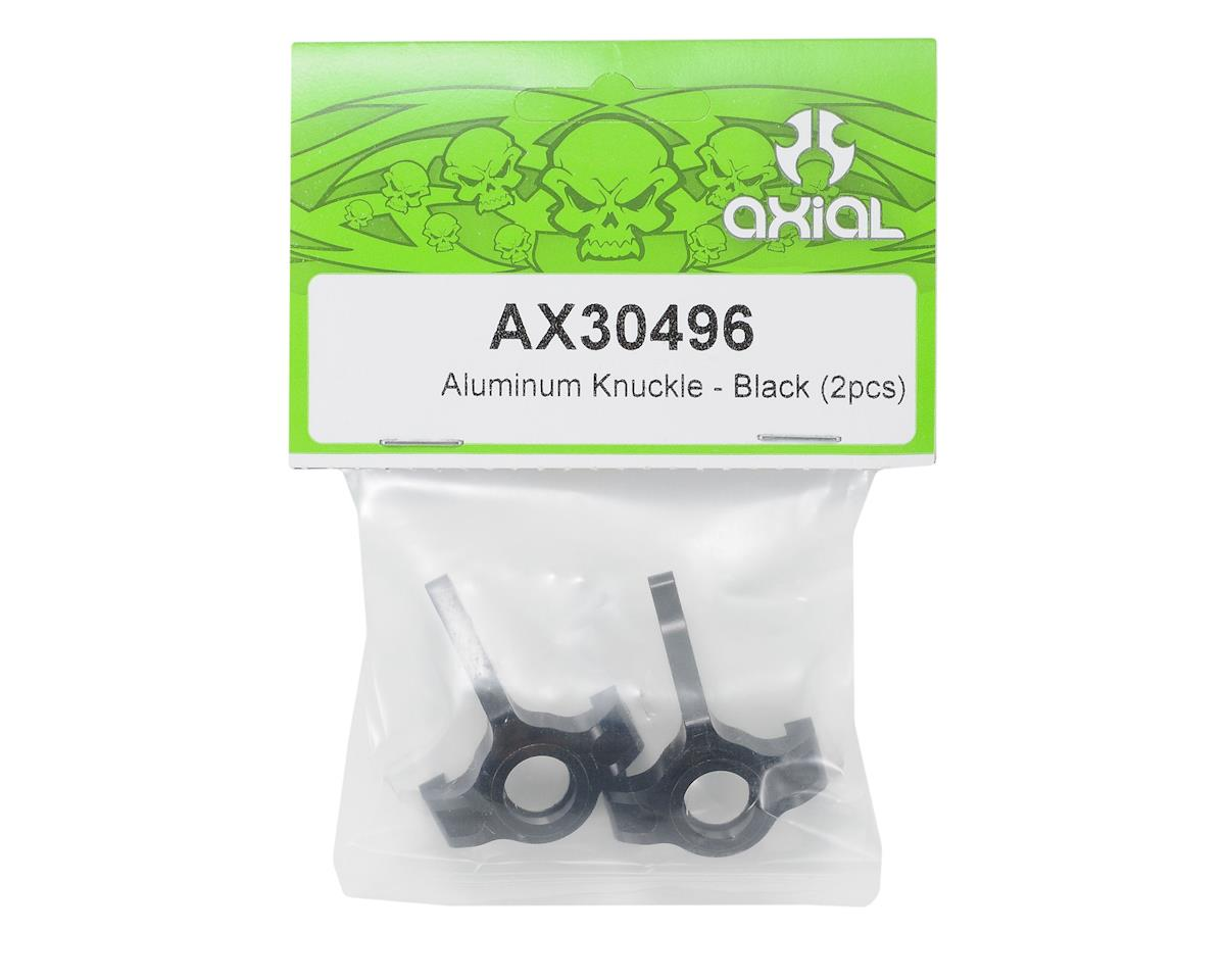 Axial Racing Aluminum Knuckle (Black) (2)