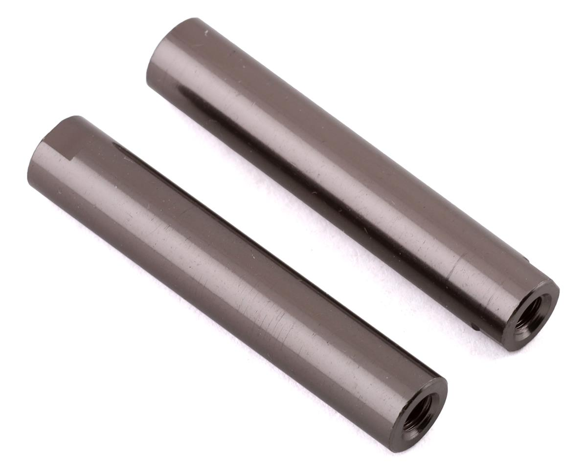 Axial Threaded Aluminum Pipe 6x33mm (Grey) (2)