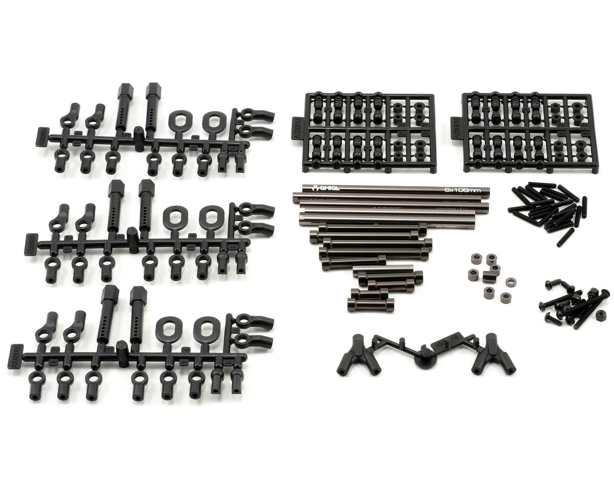 "SCX10 TR Long Wheelbase Link Set (12.3""/313mm) by Axial Racing"
