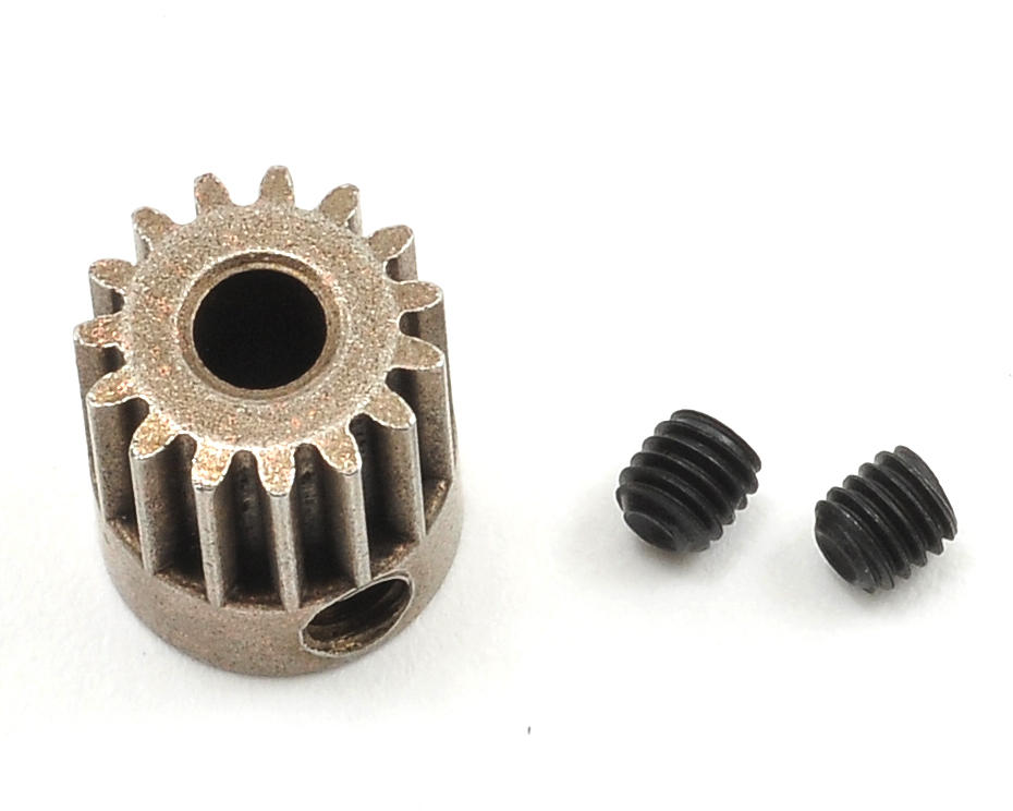 Axial Racing 48P Steel Pinion Gear (3.17mm Bore) (15T)