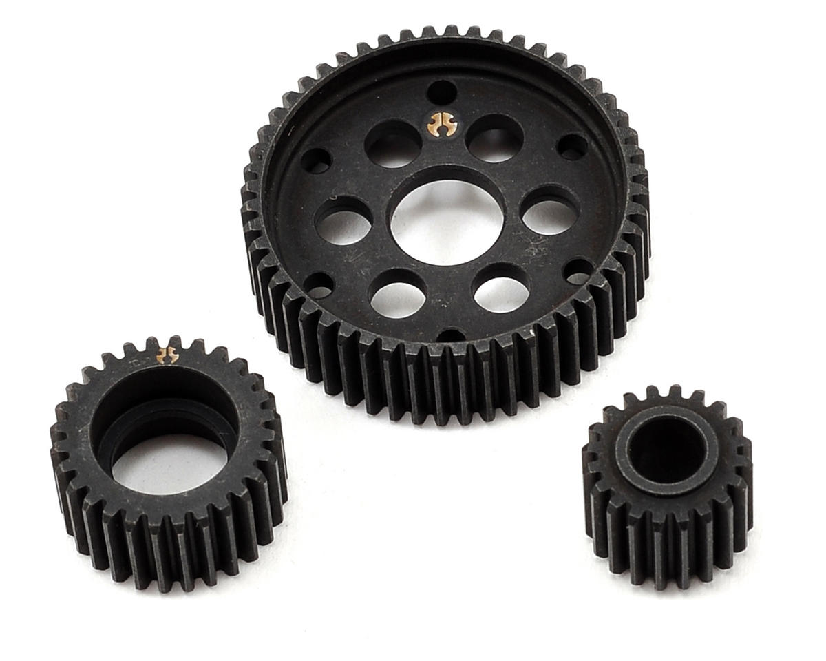 Steel Locked Transmission Gear Set (3) by Axial AX10 Racing