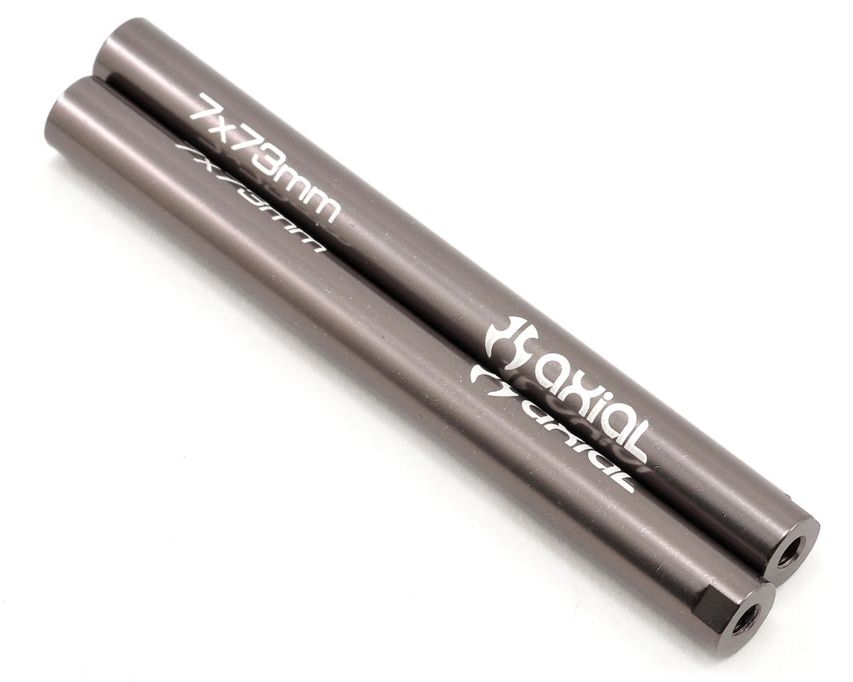 Axial threaded aluminum pipe set mm grey