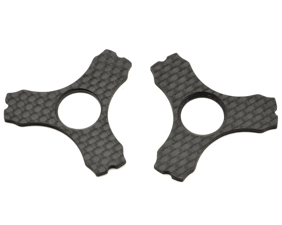 Axial Racing 2.2 VWS Carbon Fiber Wheel Weight Lock Set (2)