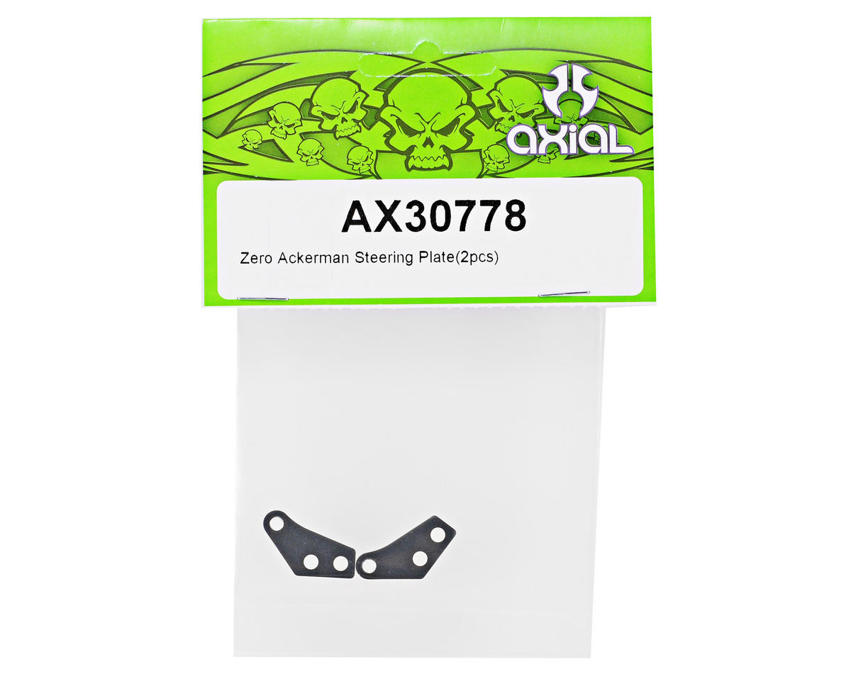 Axial Zero Ackerman Steering Plate Set (2)