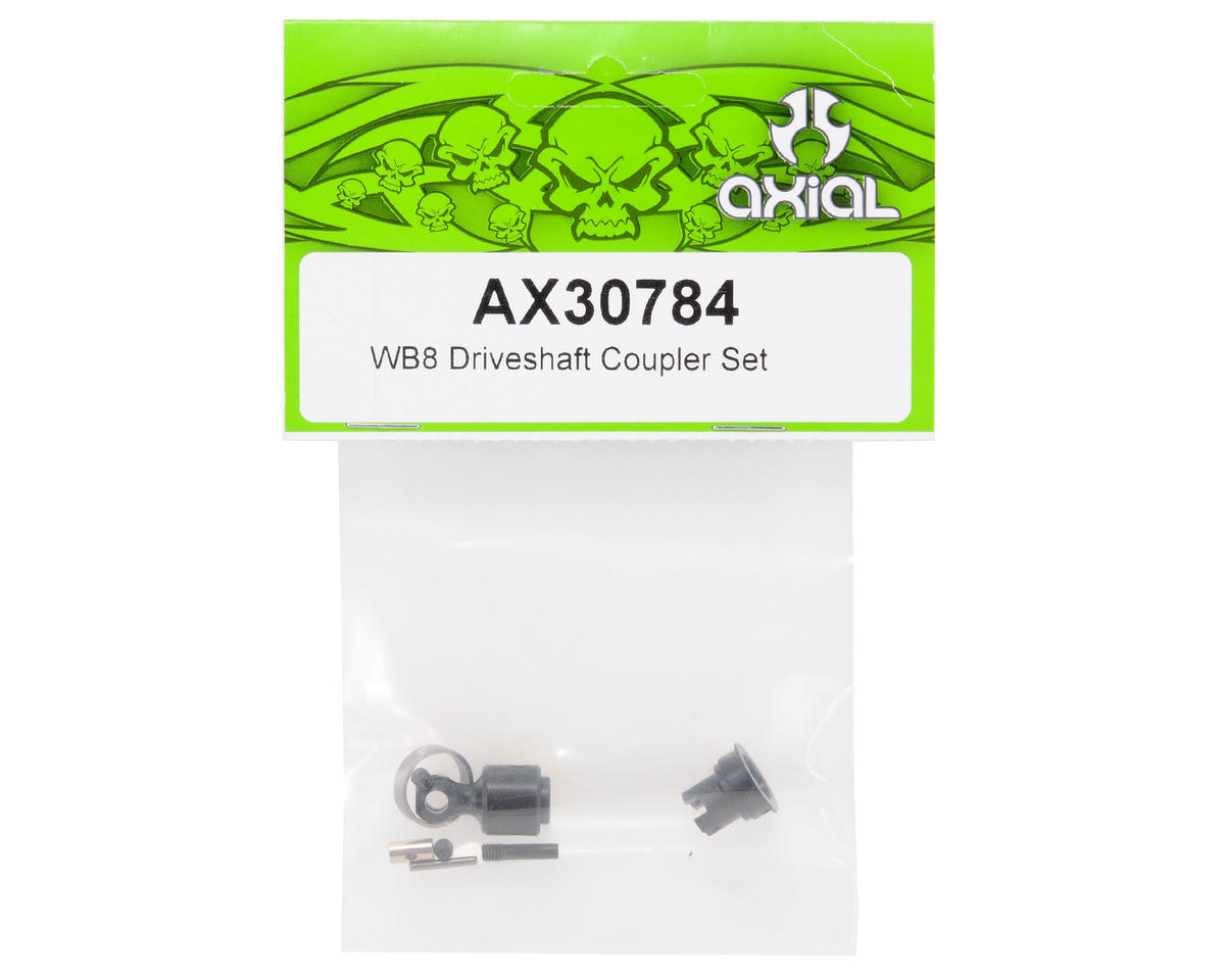 Axial WB8 Driveshaft Coupler Set