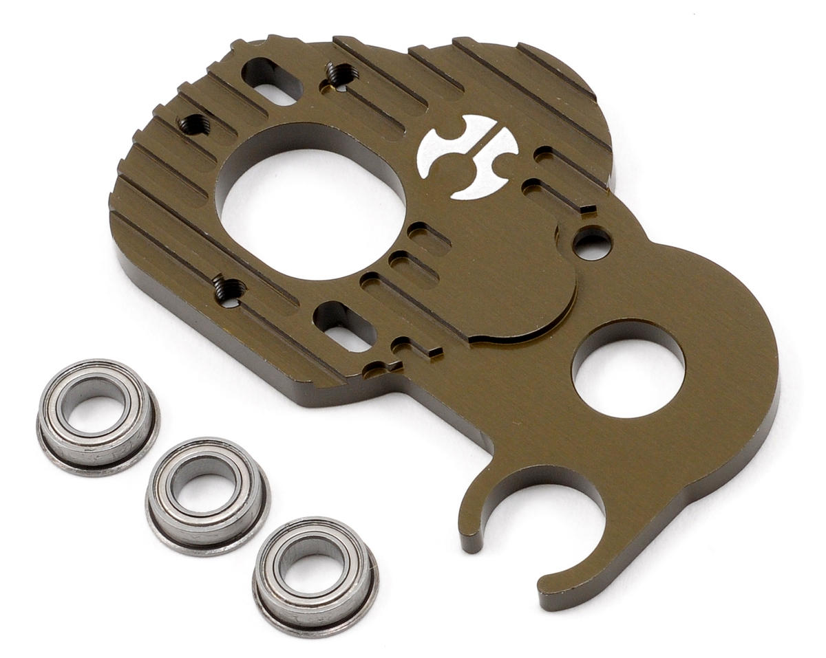 Axial Heavy Duty Gear Plate (Hard Anodized)