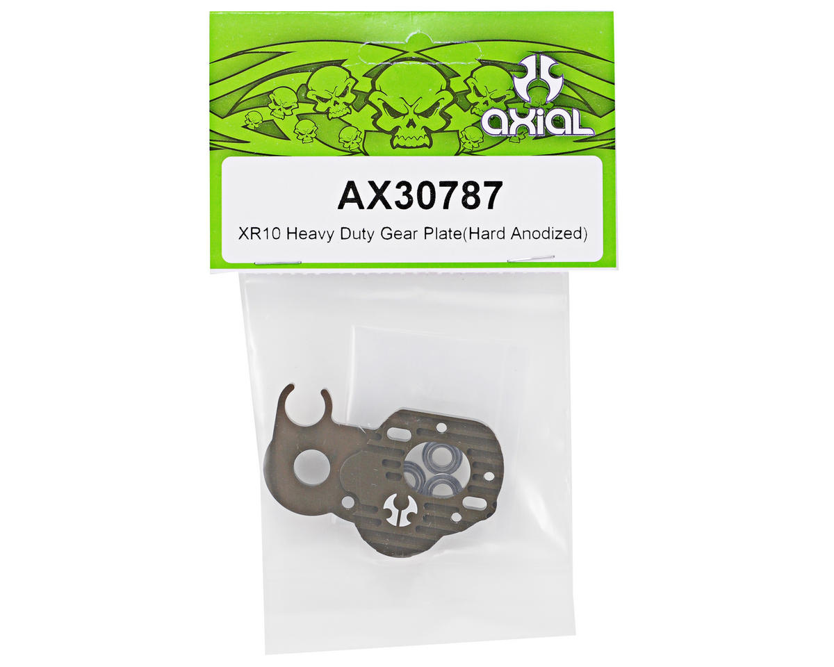 Axial Racing Heavy Duty Gear Plate (Hard Anodized)