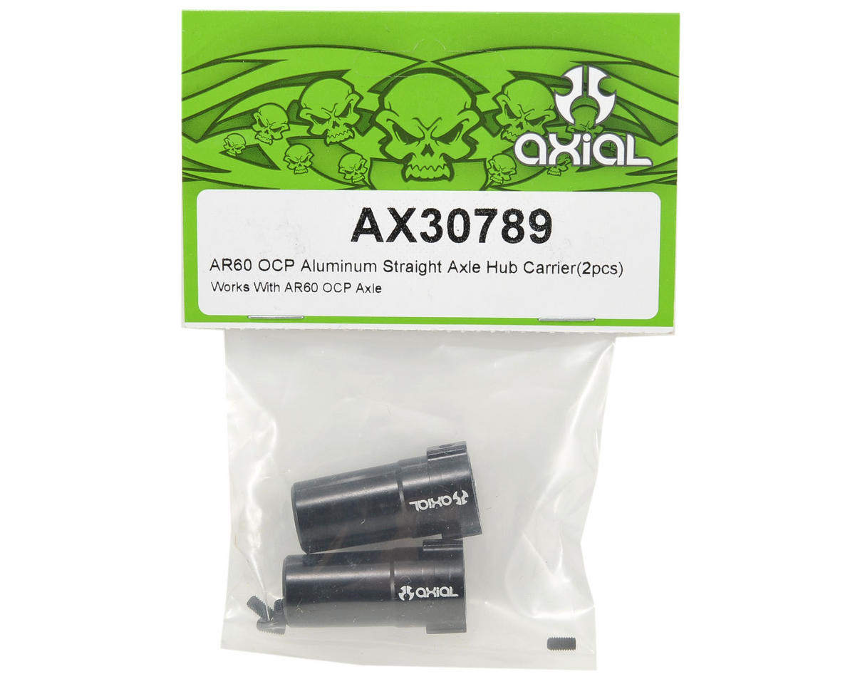Axial Racing AR60 OCP Aluminum Straight Axle Hub Carrier Set (2)