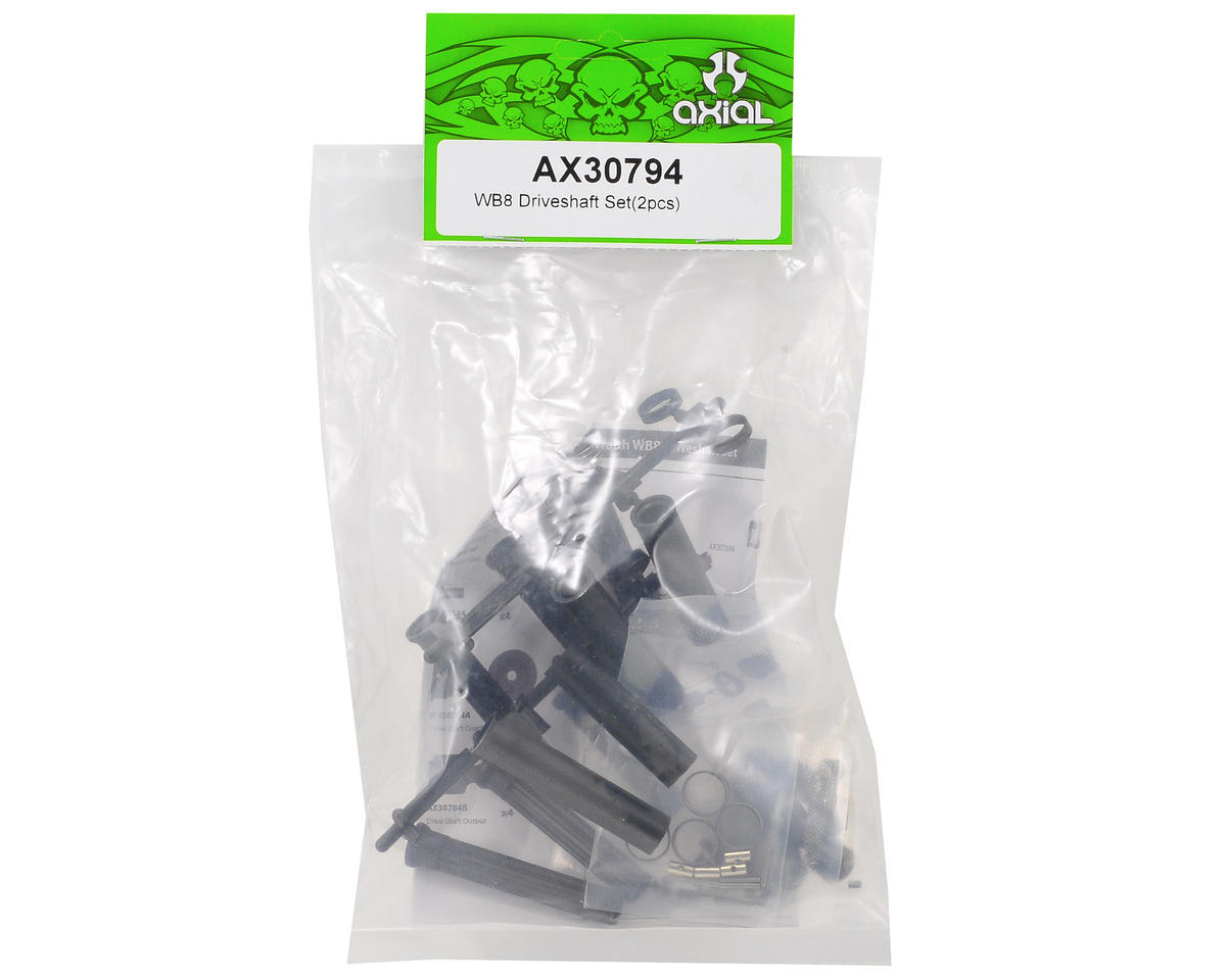 "Axial Racing WB8 ""Wild Boar"" Driveshaft Set"