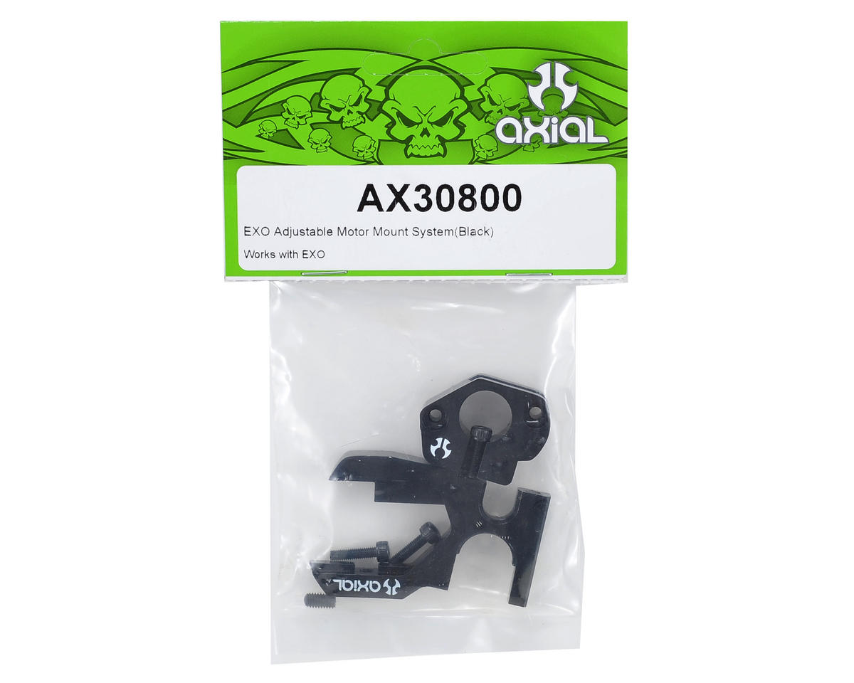 Axial EXO Adjustable Motor Mount System (Black)