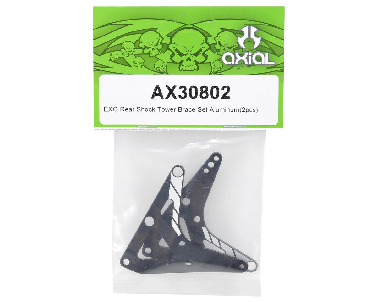 Axial Racing Aluminum Rear Shock Tower Brace Set (2)