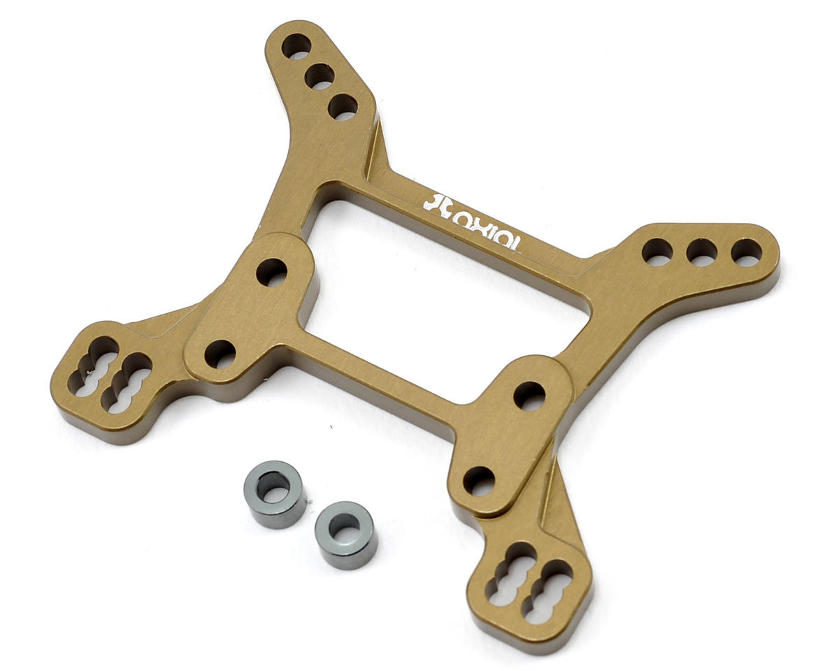 Axial Racing Machined Aluminum Front Shock Tower (Hard Anodized)
