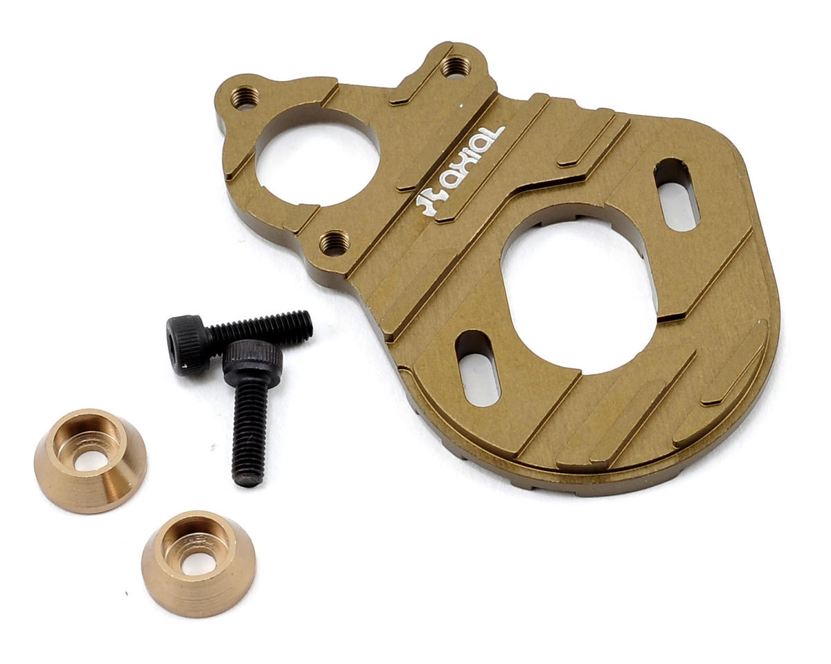 Axial Racing Machined Motor Plate (Hard Anodized)