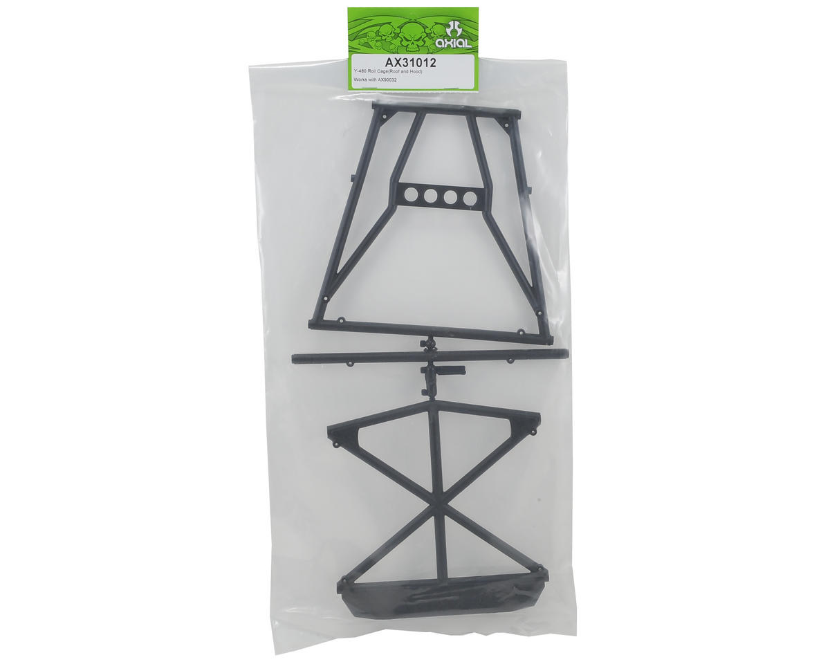 Axial Y-480 Roof/Hood Roll Cage