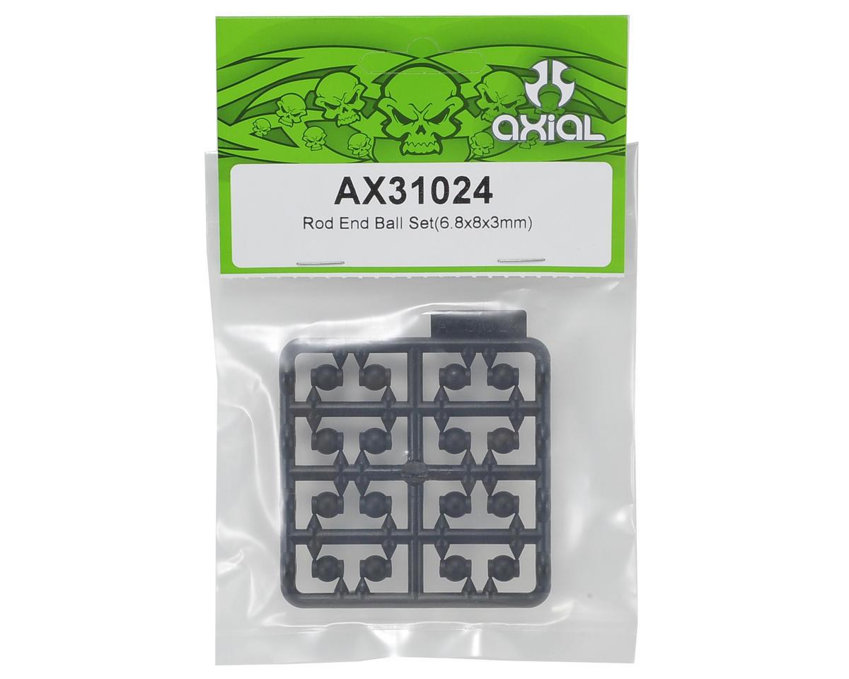 Axial Racing 6.8x8x3mm Rod End Ball Set