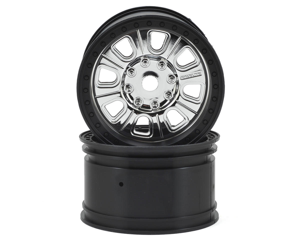 "Axial Racing 3.8"" Raceline Monster Wheel (Black) (2)"