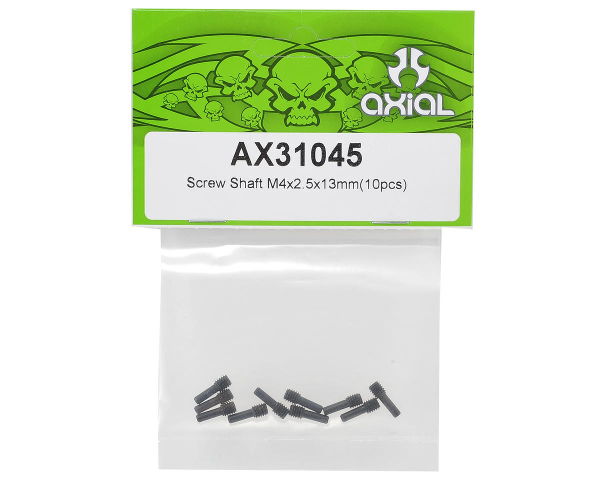 Axial Racing 4x2.5x13mm Screw Shaft (10)