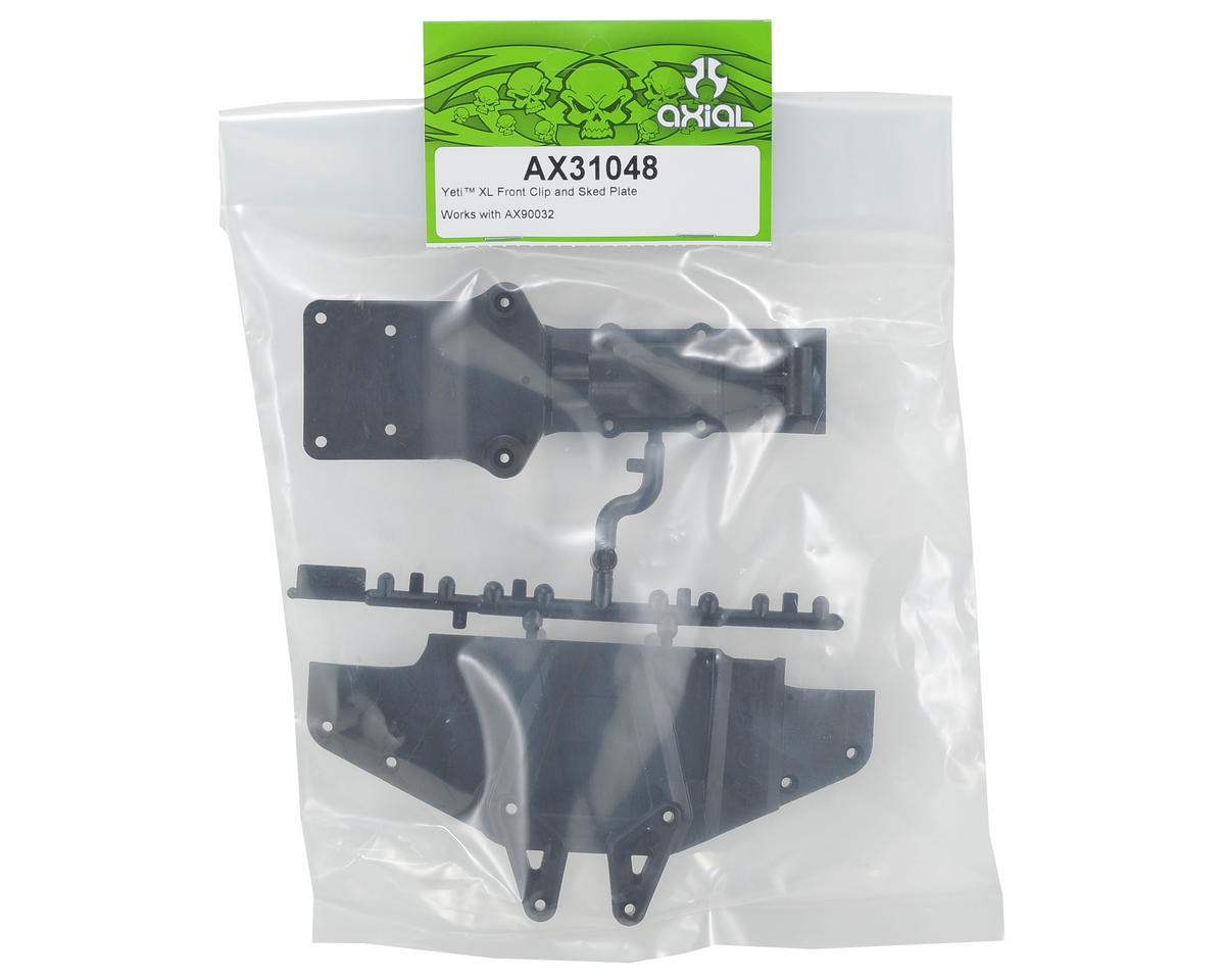 Axial Front Clip/Skid Plate
