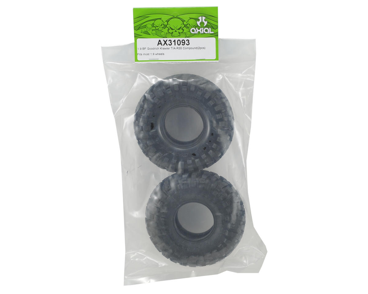 "Axial BFGoodrich Krawler T/A 1.9"" Rock Crawler Tires (2) (R35 Compound)"