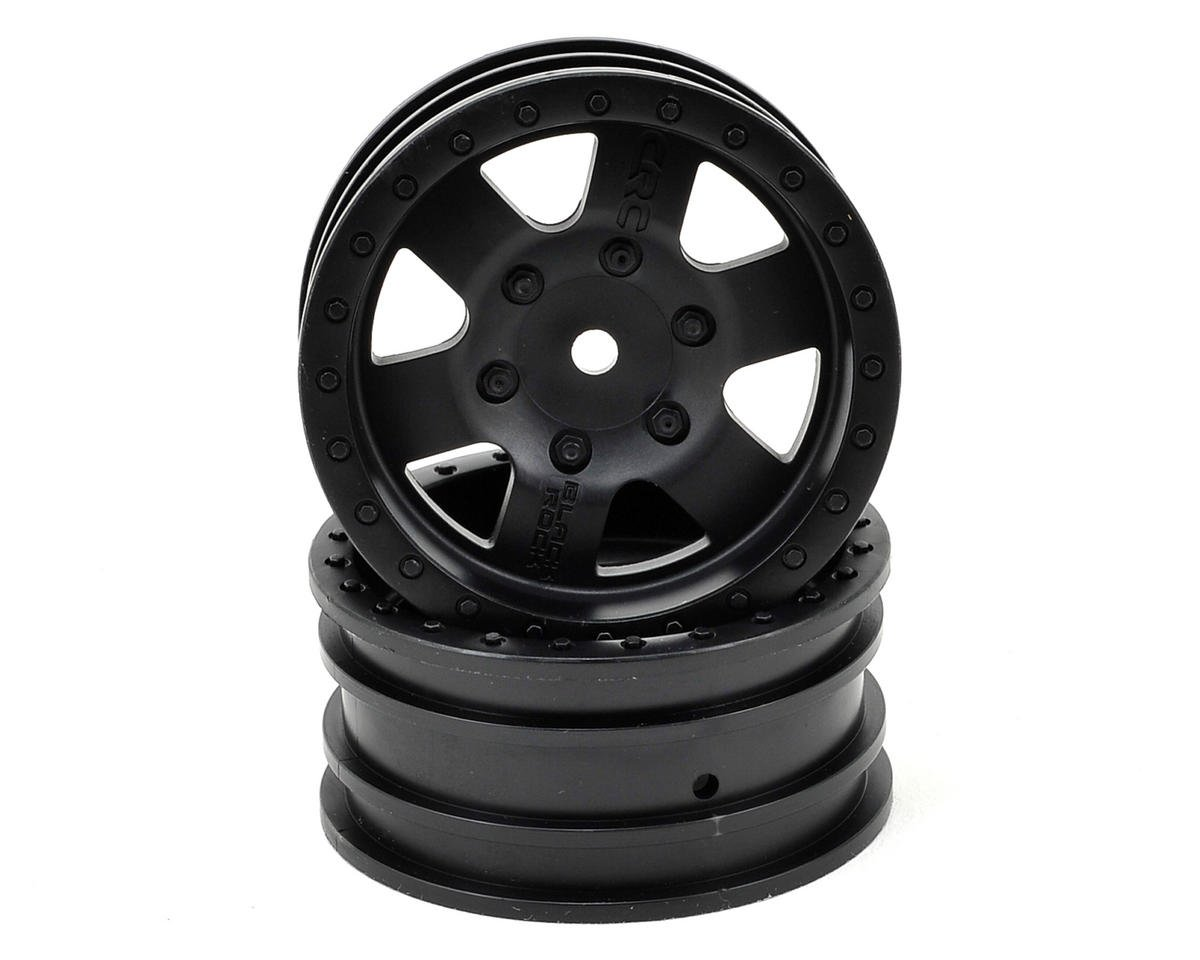Axial Black Rock CRC 1.9 Rock Crawler Wheels (2) (Black)