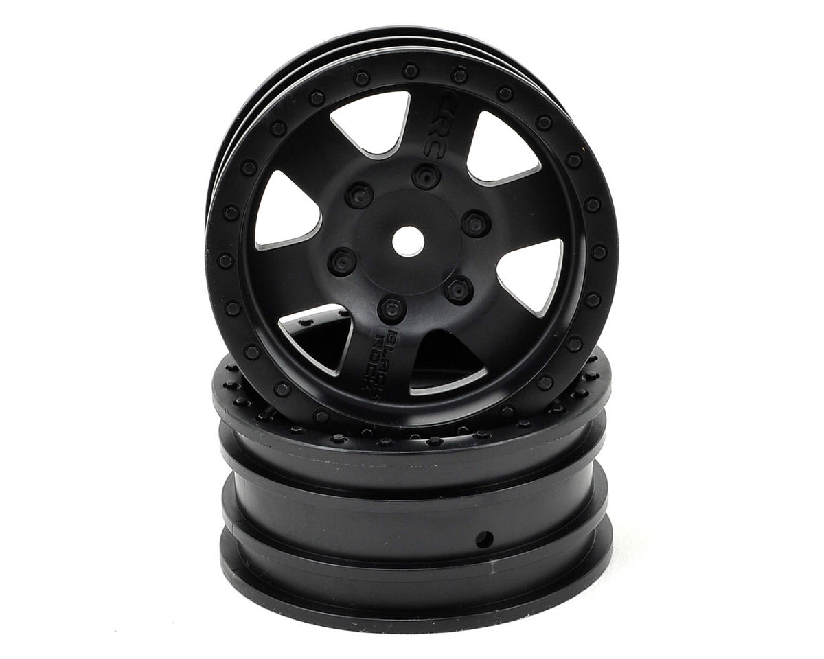 "Axial Black Rock CRC 1.9"" Rock Crawler Wheels (2) (Black)"