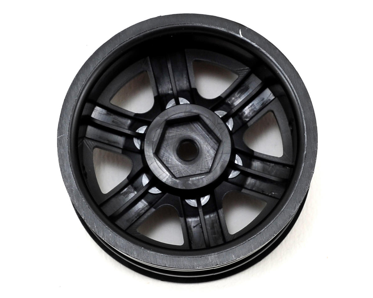 "Axial Racing Black Rock CRC 1.9"" Rock Crawler Wheels (2) (Black)"