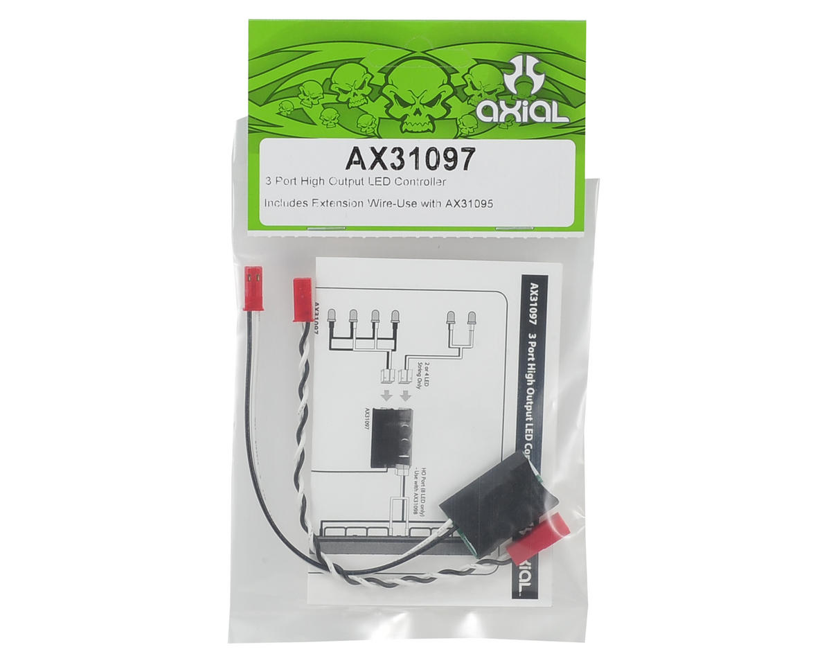 Axial 3 Port High Output LED Controller