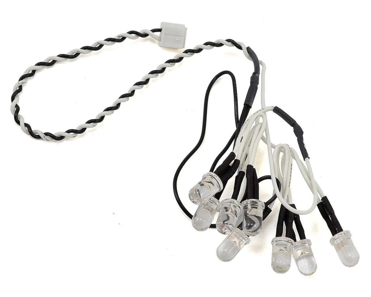8 LED Light String (White) by Axial Racing