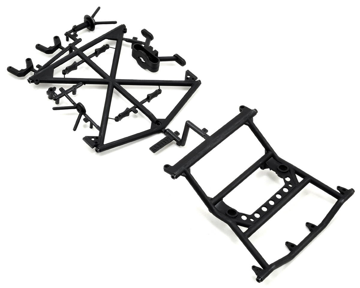 Yeti Y-380 Cage Top Rear/Tire Carrier Set by Axial Racing