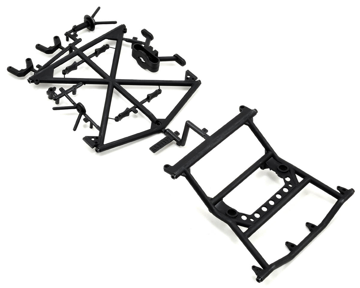 Axial Yeti Y-380 Cage Top Rear/Tire Carrier Set