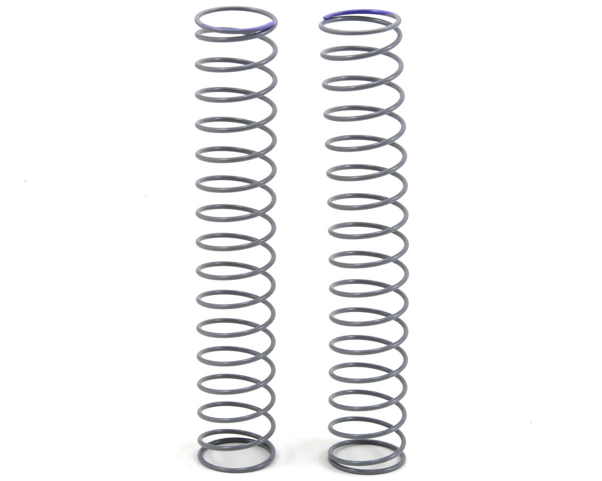 Shock Spring (Purple) (2) (14x90mm - 1.01 lb/in) by Axial Racing