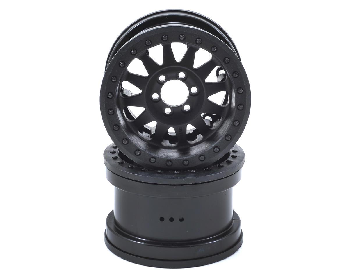 Axial Method IFD Beadlock 2.2 Crawler Wheels (2) (Black)